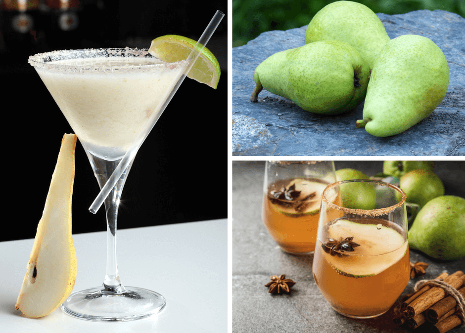 August Prosecco Cocktail of the month: Pear Prosecco Cocktail